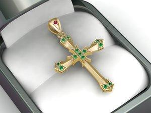 3D model luxury pendant