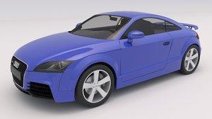 3D model audi tt rs 2010