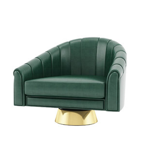 bogarde armchair 3D model