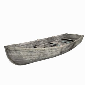 old boat 3D