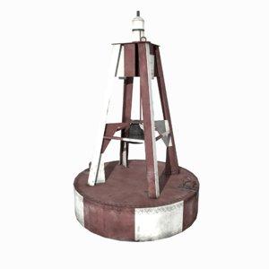 buoy old 3D model