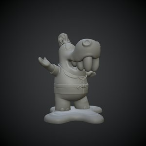 printable miniature 3D model