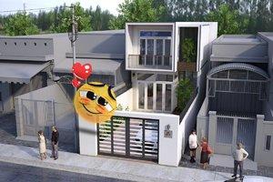 housetown 3D model