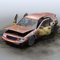 GENERIC Abandoned Sedan