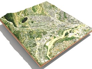 3D model city georgia