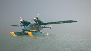 accord-201 floatsplane greenyellow livery 3D