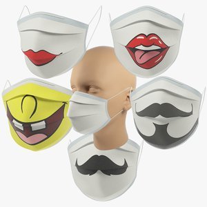 3D medical masks