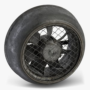 3D small industrial fan 2