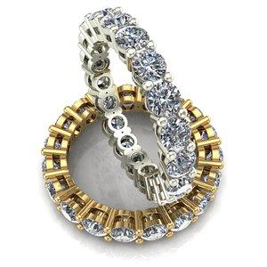 3D jewelry 0 2 3 model