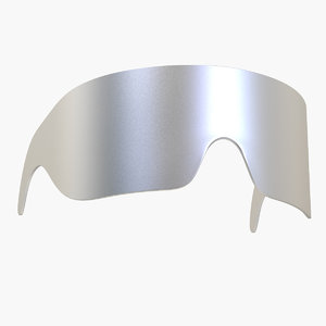 3D futuristic glasses futur