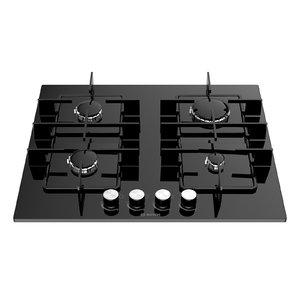 gas cooking hobs bosch 3D model