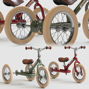 trybike tricycle draisienne 3D model