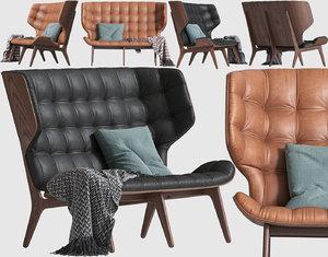 sofa mammoth seat model