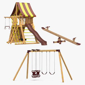 jungle gym 3D model