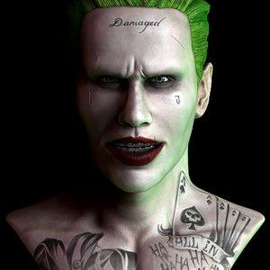 joker suicide squad 3D
