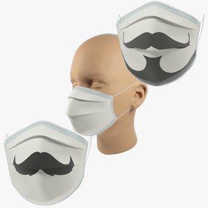 3D medical masks s