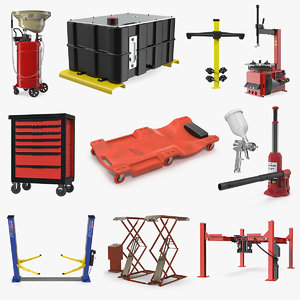 3D garage equipment 4