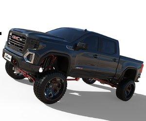2020 gmc 3D model