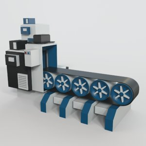 3D conveyor belt