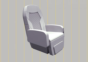 3D vip cabin seating
