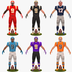 pack american football player model