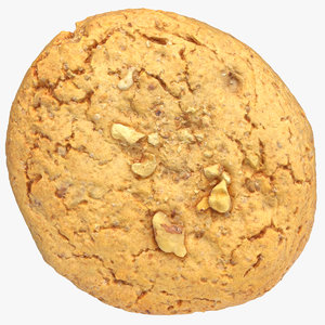 3D cookie walnuts 01