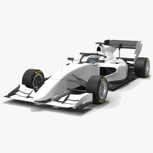 dallara f3 formula 3 3D model