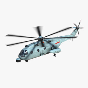 3D z-18f asw helicopter
