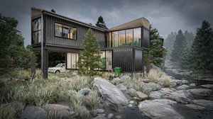 3D container house
