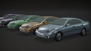sedan car generic model