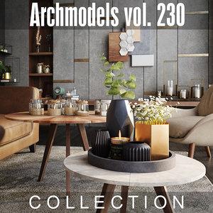 archmodels vol 230 3D model