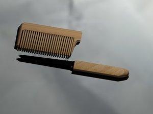 3D printing comb