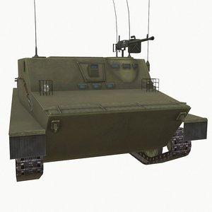 3D carrier tank
