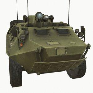 3D soviet carrier model