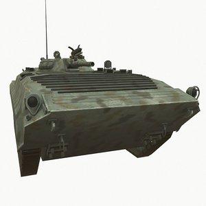 3D model btr soviet carrier