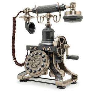 3D phone telephone eiffel