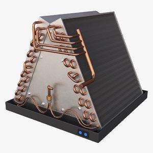 ac evaporator 3D