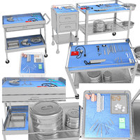Surgical Instruments Medical Equipment Collection