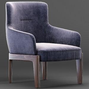 3D molteni chelsea armchair