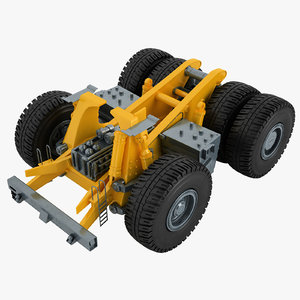 mining truck chassis 3D model