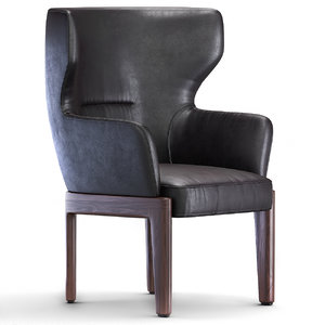 chelsea armchair chair 3D model