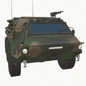 3D fuchs armoured carrier model