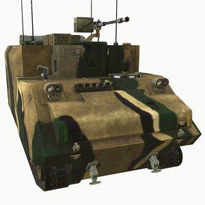 3D k277 kifv model
