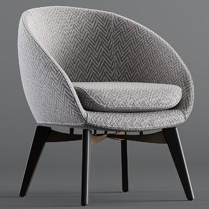 minotti russell lounge 3D model