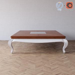small table 450br giorgiocasa 3d max