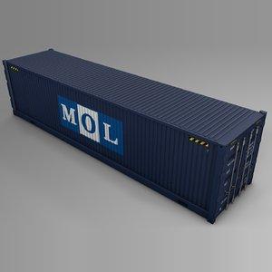 mol cargo container l730 3D model