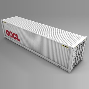 oocl network cargo container model