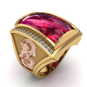 ring dragon 3D