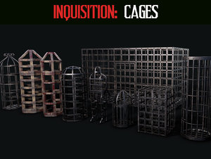 inquisition cage 3D