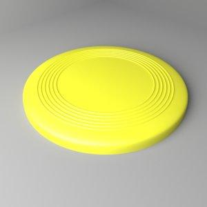 3D flat-disc frisbee